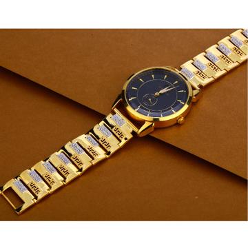 916 Gold Hallmark Delicate Gentlemen's Watch MW45