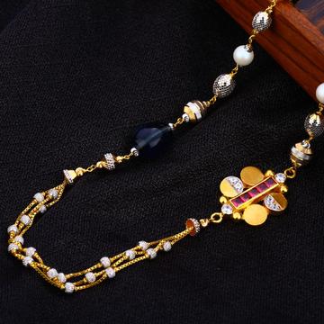 22KT Gold Ladies stylish  Antique Chain Mala AC182