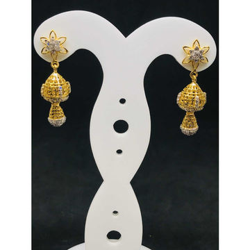 22k ladies fancy gold earring Er-60041