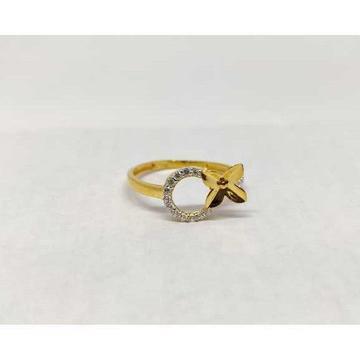 916 Ladies Fancy Gold Ring Lr-17071