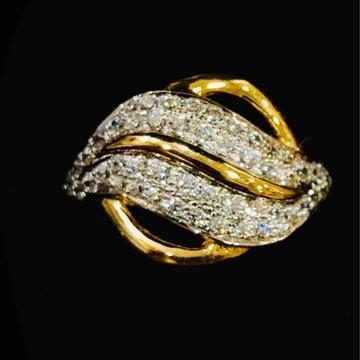 916 Gold Fancy Designer Ladies Ring by Prakash Jewellers