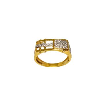22K Gold Modern Gents Ring MGA - GRG0235