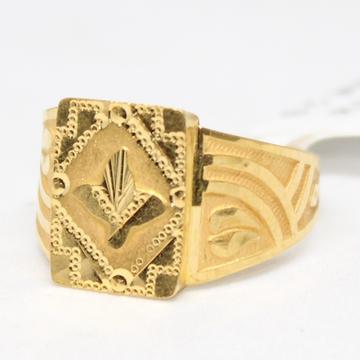 ring 916 hallmark gold-6743 by