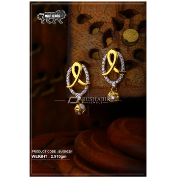 18 carat Gold ladies tops with ball   earrings bug... by