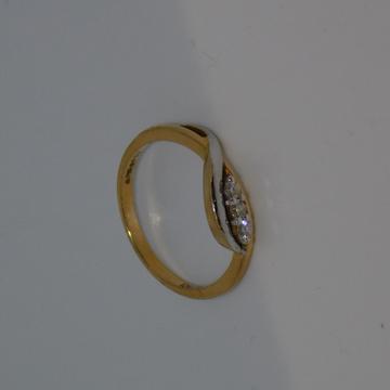 18K gold diamond ring agj-lr-29