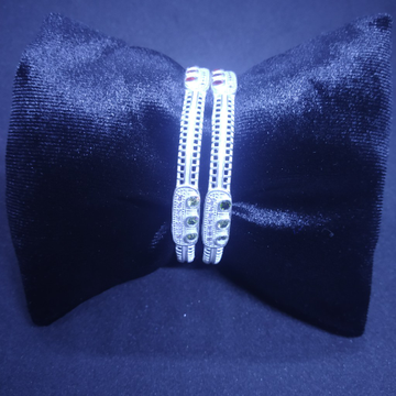 new dezine with three(3) dimond semi micro bangle,kadli,kangan 87