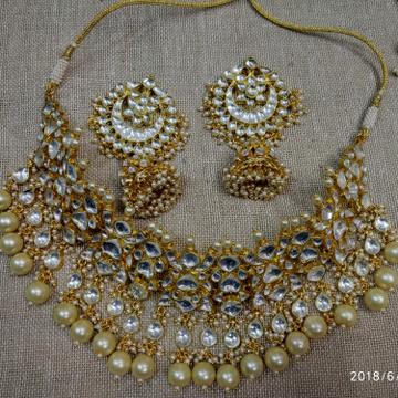 Jadtar Necklace Set p 1160