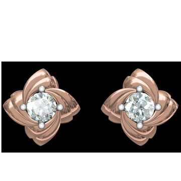 18kt cz rose gold diamond tops