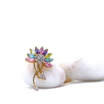 22KT / 916 Gold Fancy Colorful Stone Pendant for L... by