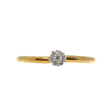 18K Gold Real Diamond Ring MGA - RDR0019