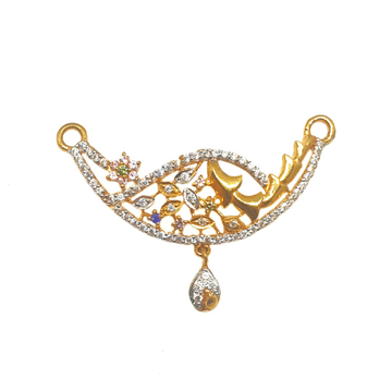 22K Gold Fancy Mangalsutra Pendant MGA - MPG0007