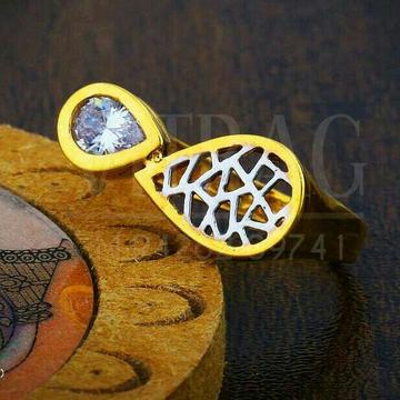Fancy Attractive Singal Stone Ladies Ring LRG -0400