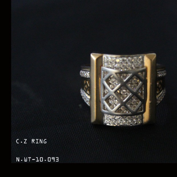 18kt gent's ring