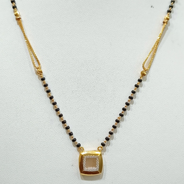 22 KT SQUARE PANDAT MANGALSUTRA by