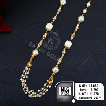 916 gold mala MLG-0123