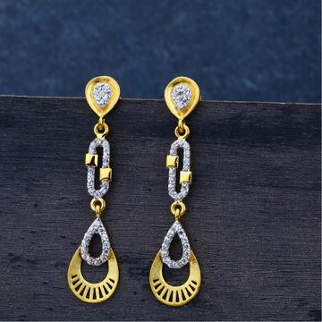 Ladies 916Gold Jummar Earring-LJE72