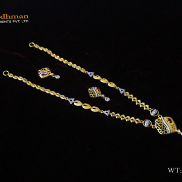 22ct cz fancy dokiya+set by