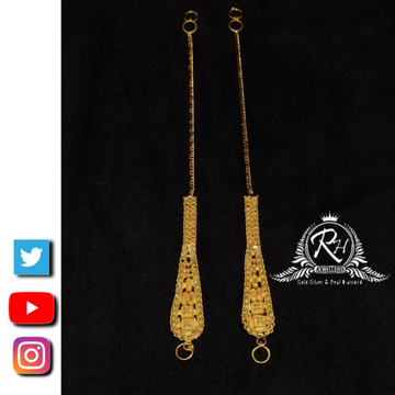 22 carat gold traditional matilu ladies kaan chain RH_CN78