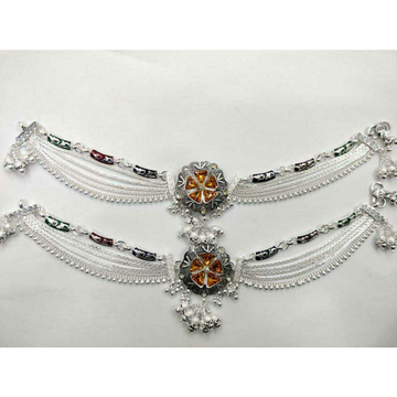 Middle Broach 2(Two) Tone Payal Ms-3665 by