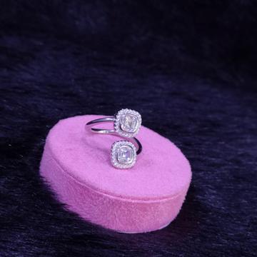 92.5 Sterling Silver Robust Nobel Ring For Women