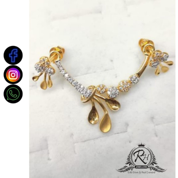 22 carat gold antique ladies pendants RH-PD878