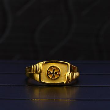 22ct Gold Casting Plain Ring MPR76