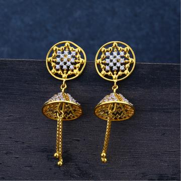 Ladies Gold 22K Jummar Earring -LJE78