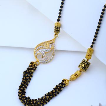 916 gold Hallmark Beautiful Pendant Mangalsutra