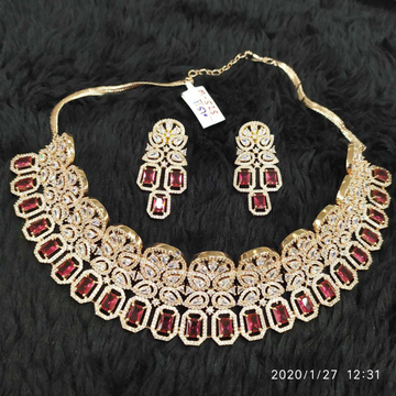 Pink Diamond Necklace#932