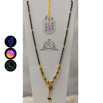 22 carat gold traditional ladies mangalsutra RH-MN638
