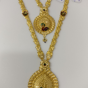 22kt gold handmade Haram and necklace set