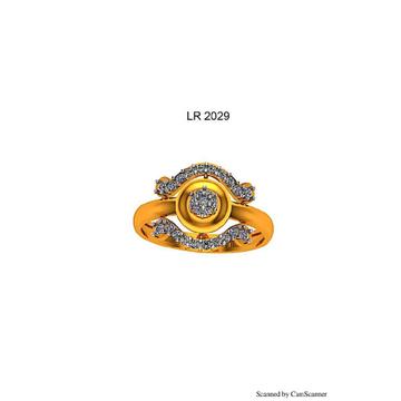 76 gold cz ladies ring 029