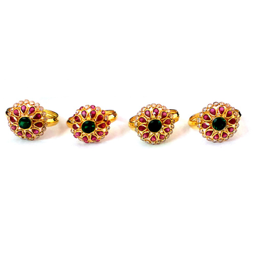 Fancy Color Stone Gold Rings NJA-R006