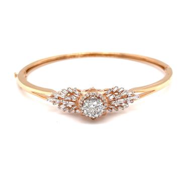 Kereina diamond bracelet in pressure set pie cut f...