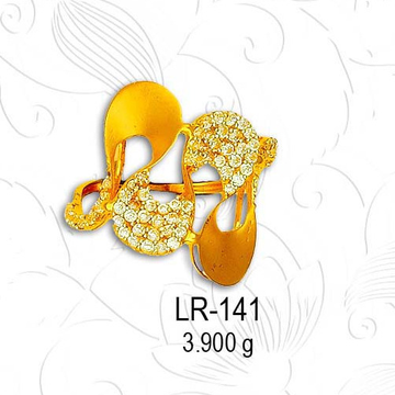 916 ladies ring LR 141