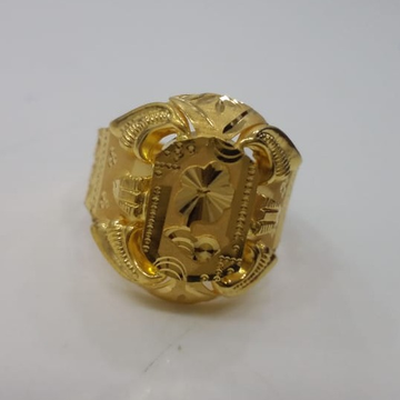 22 kt 916 gold ring for gents by