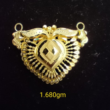 916 Gold Mangalsutra Pendant by