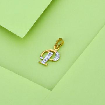 22kt Gold Designer Letter Pendant LP20