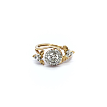 REAL DIAMOND FANCY RING FOR LADIES
