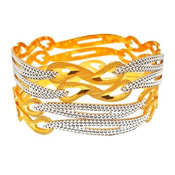 1 gram gold forming modern bangles mga - bge03o2