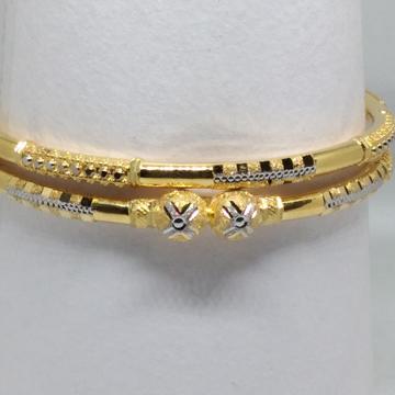 22kt fancy single paip copper kadli latest by V.N. Jewellers