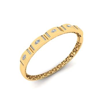 22kt gold cz attractive bracelet pj-b002