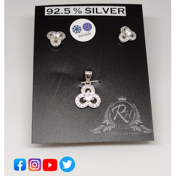 silver earrings & pendant set RH-PS343