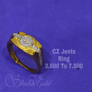 CZ Jents Ring