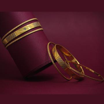 916 Hallmarked Beautiful Bangles by Simandhar Jewellers