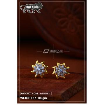 18 carat gold Ladies round tops btg0193 by