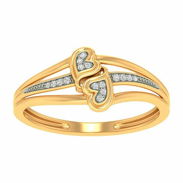 18k gold real diamond ring mga - rdr0038