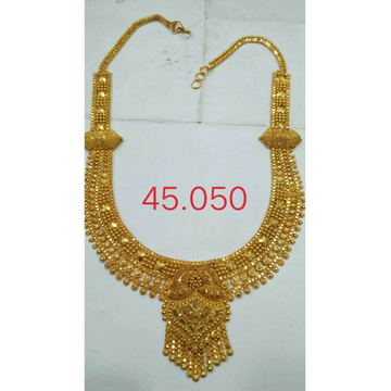 Gold  Necklace Set by