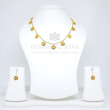 18kt gold pendant set gchp12 - gft26