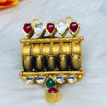 916 Gold Jadtar Mangalsutra Pendants msp-0014
